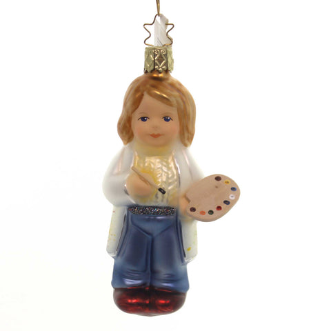 Inge Glas ARTISTE INNOCENT HEARTS Ornament Paint Brush  Ornament 10062S018 37350