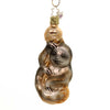 Inge Glas SLOTH ORNAMENT Glass Mammal Slowness  Christmas 10069S018