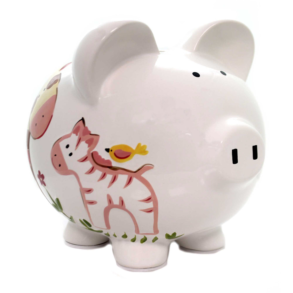 Bank LARGE JUNGLE JILL BANK Ceramic Monkey  Money 36814