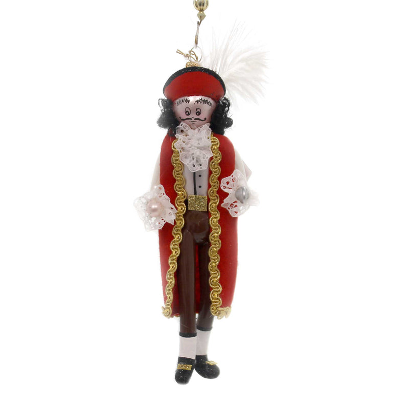De Carlini CAPTAIN HOOK Glass Nusrery Rhyme Peter Pan Italian Om4437