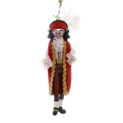 De Carlini CAPTAIN HOOK Glass Nursery Rhyme Peter Pan Italian Om4437 37708