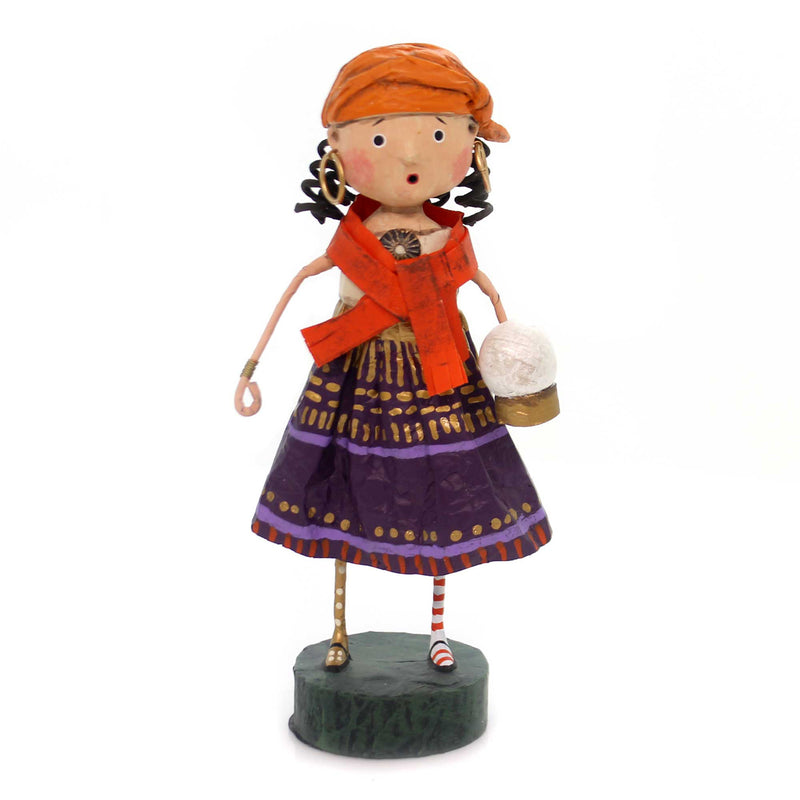 Lori Mitchell GYPSY ROSE Polyresin Fortune Teller Halloween 11102