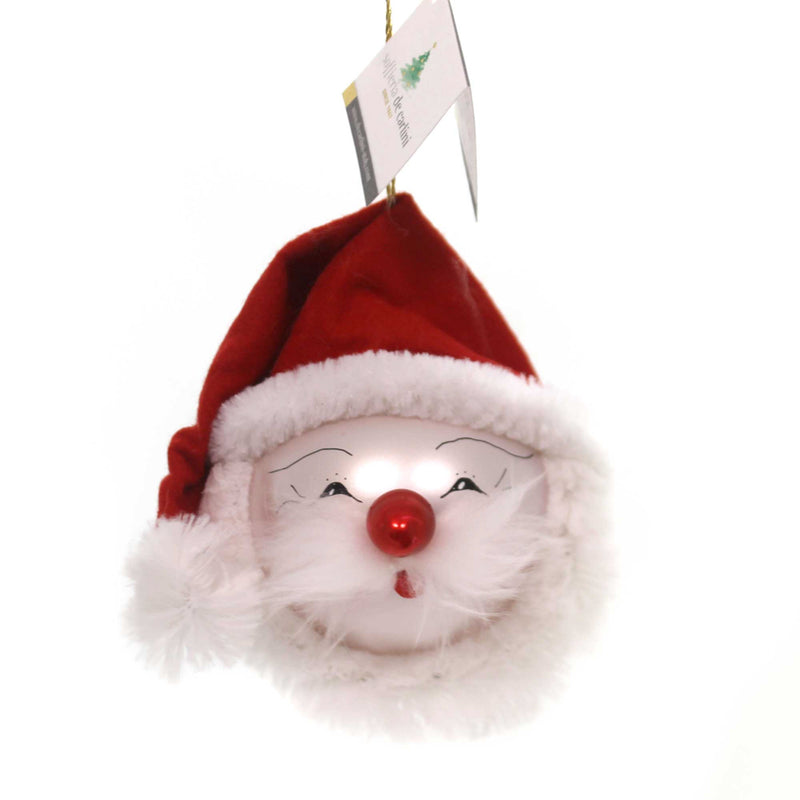 De Carlini SANTA FACE Glass Italian Felt Hat Bn305