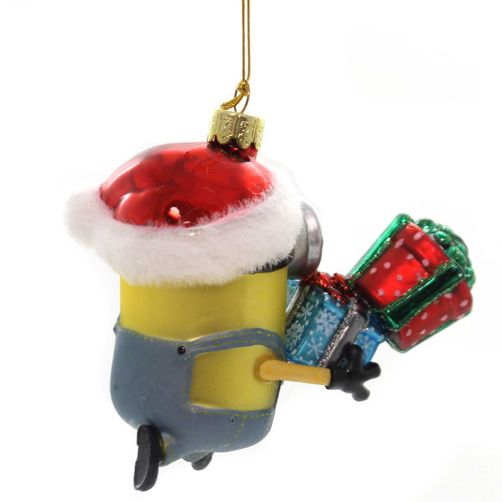 Holiday Ornaments MINION KARL WITH PRESENTS Despicable Me Universal Studio De4182