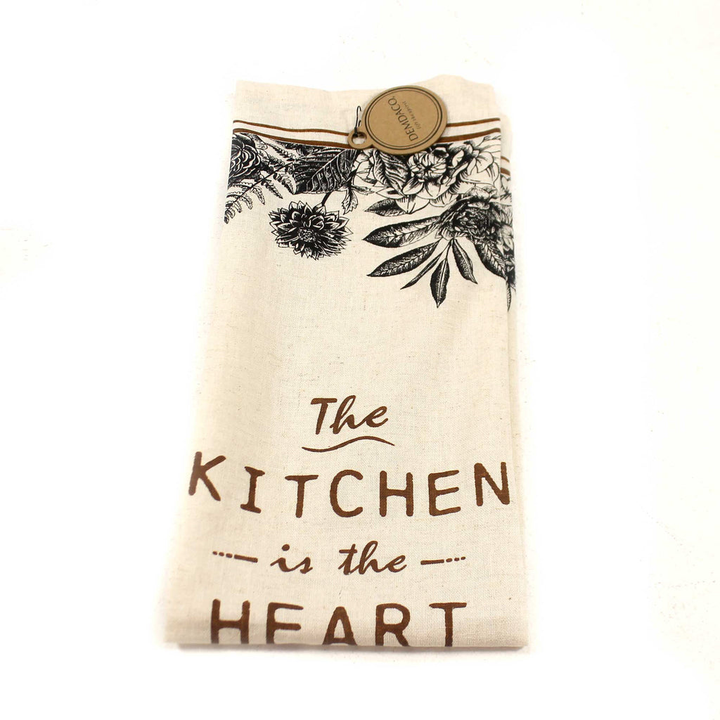 Tabletop HEART OF THE HOME TEA TOWEL Fabric Cotton Linen 1004180295