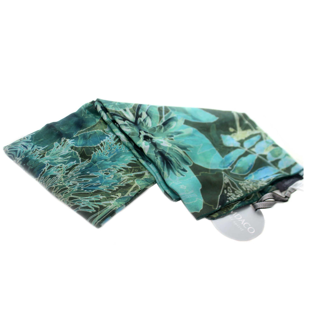 Apparel GREEN BOTANICAL SCARF VEST Fabric Polyester 1004250145