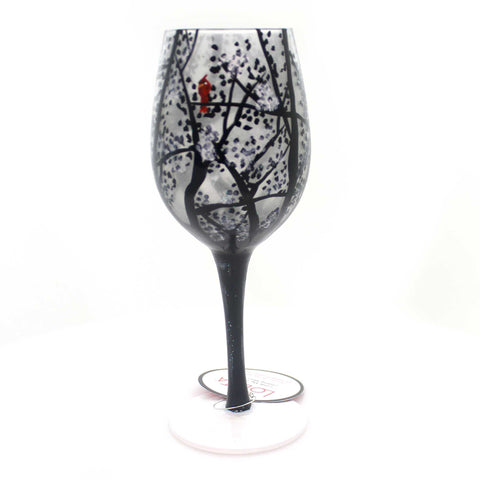 Tabletop A CHILL IN THE AIR Glass Love My Wine Glass 6001632 37948