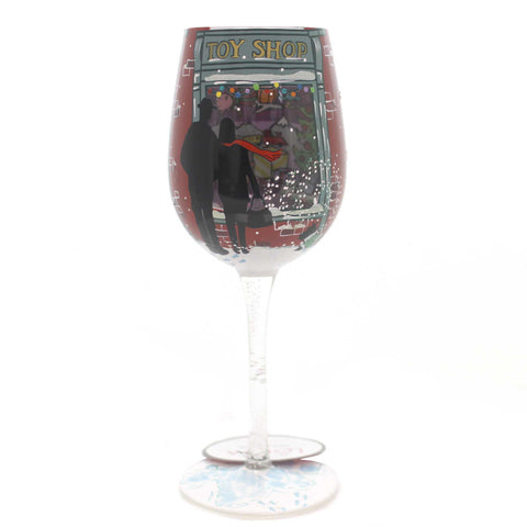 Tabletop KID AT HEART Glass Christmas Wine Glass 6001633 37952
