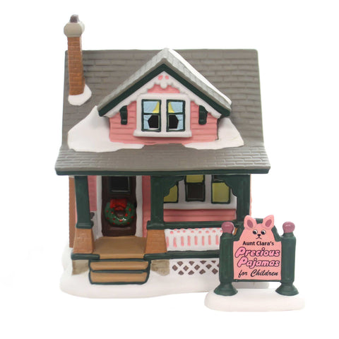 Department 56 House AUNT CLARA'S HOUSE Porcelain A Christmas Story 6001185 37966