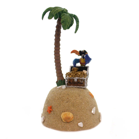 Department 56 Accessory YES, I'M A PIRATE Margaritaville Chest Of Gold 6001211 38090