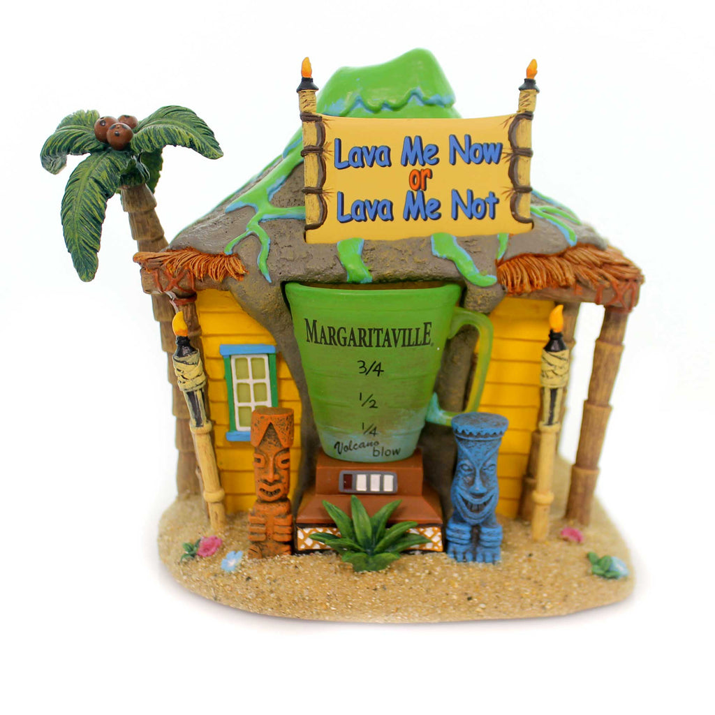 Department 56 House VOLCANO CLUB Polyresin Margaritaville Smoke 6001209