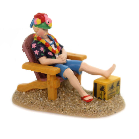 Department 56 Accessory FLIPPED AND FLOPPED Margaritaville Beach Sand 6001758 38094