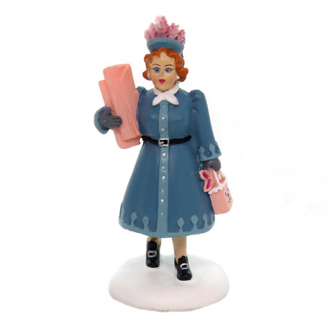 Department 56 Accessory AUNT CLARA Polyresin Christmas Story Shopping 6001186 38098