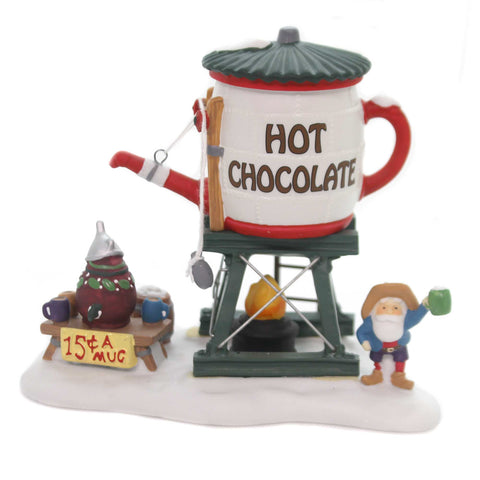 Department 56 Accessory HOT CHOCLATE TOWER Porcelain North Pole Series 56872 38222