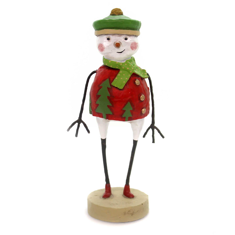 Lori Mitchell FROSTY FELLOW Polyresin Snowman Christmas 11089