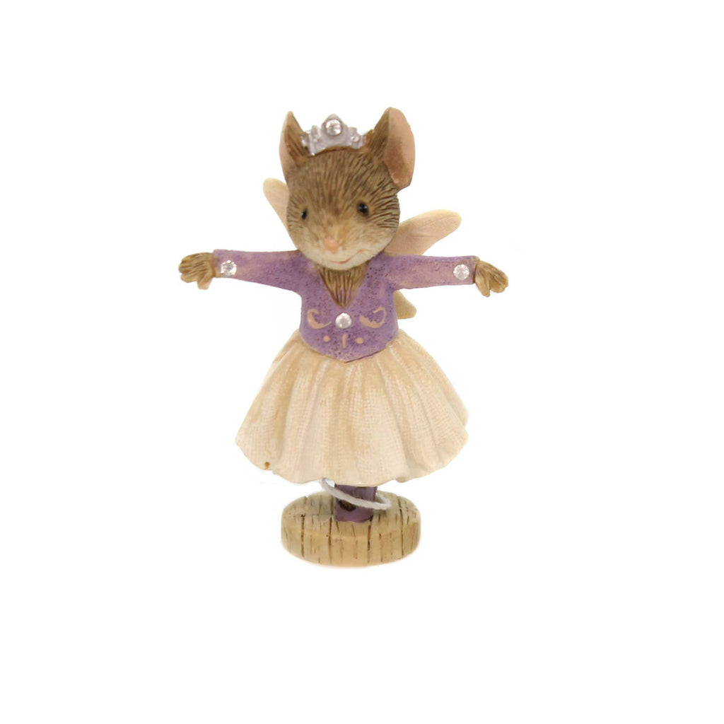 Christmas SUGAR PLUM FAIRY Polyresin Nutcracker 6001385