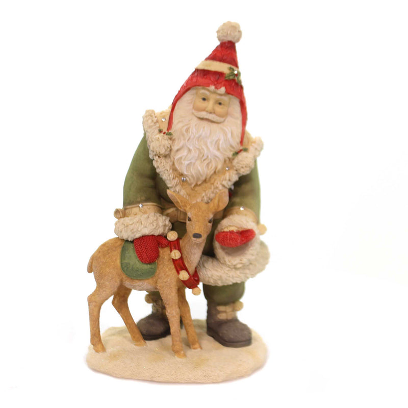 Christmas SANTA'S REINDEER TREATS Polyresin Heart Of Christmas 6001373
