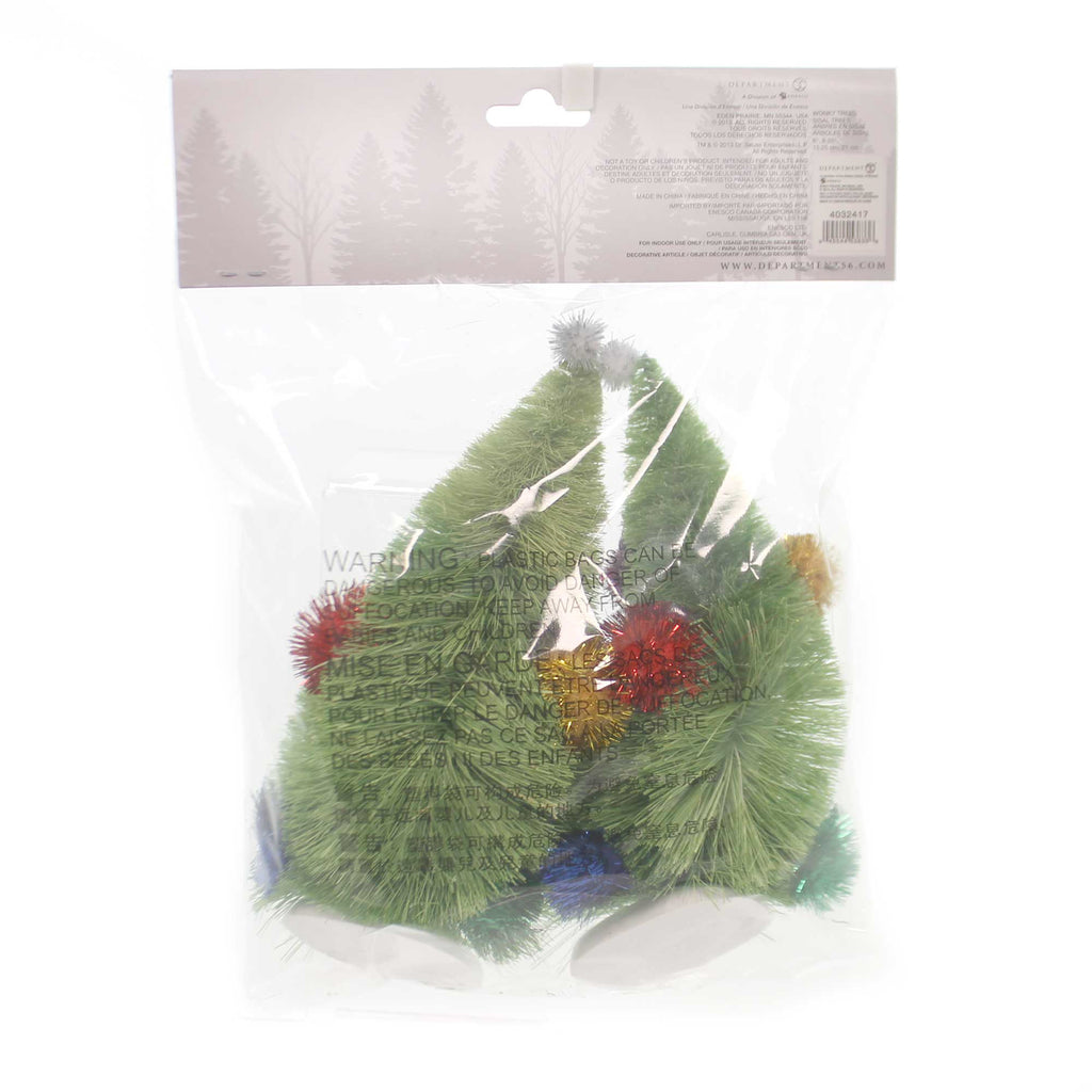 Department 56 Accessory WONKY TREES Plastic The Grinch 4032417
