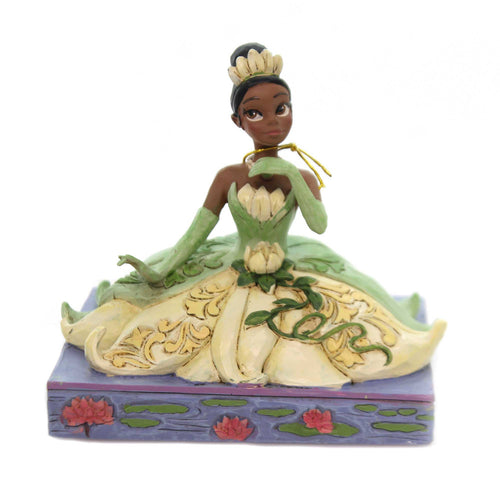Jim Shore BE INDEPENDENT Polyresin Tiana Disney Traditions 6001279