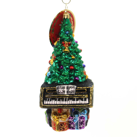 Christopher Radko TREETOP CONCERTO Glass Piano Tree Ornament 1019291 38685