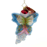Christopher Radko SPREAD YOUR WINGS! Glass Butterfly 1019290