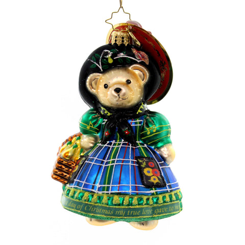 Christopher Radko ST. PADDY CLAUS Glass Irish Bishop 1012437