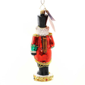 Christopher Radko A RARE BIRD Glass Nutcracker Cardinal 1019134