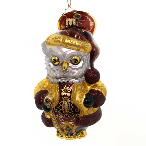 Christopher Radko JOLLY RINGER Glass Santa Bell 0106880