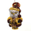 Christopher Radko HOOOO SAID VICTORIAN? Glass Owl 1019400