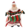 Possible Dreams MERRY STOCKINGS Fabric Christmas Santa Claus 6000701