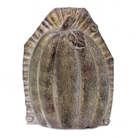 Fall PUMPKIN TABLETOP MOLD LG Polyresin Thanksgiving Figurine 41124B 38800