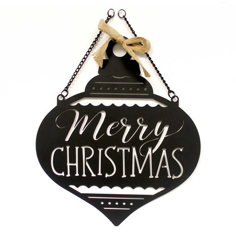 Home & Garden CHRISTMAS ORNAMENT METAL GARDEN Metal Laser-Cut 44052 38818