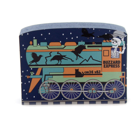 Cats Meow Village BUZZARD EXPRESS Wood Halloween Accessory 18633 38874
