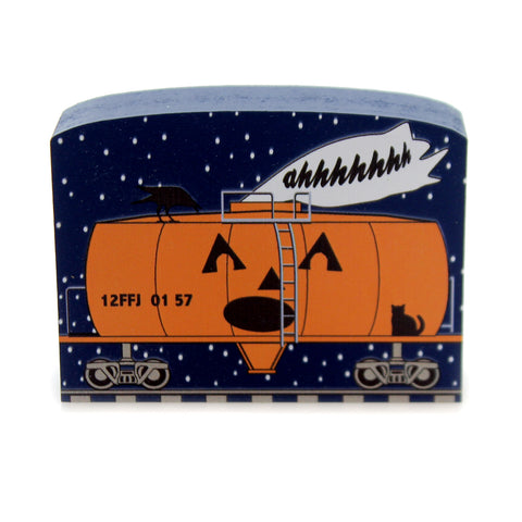 Cats Meow Village TANKER OF SCREAMS Wood Halloween 18637 38878