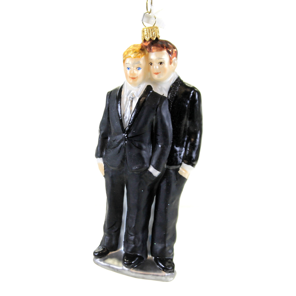 Christina's World BOY AND BOY WEDDING COUPLE Glass Marraige Luv049b