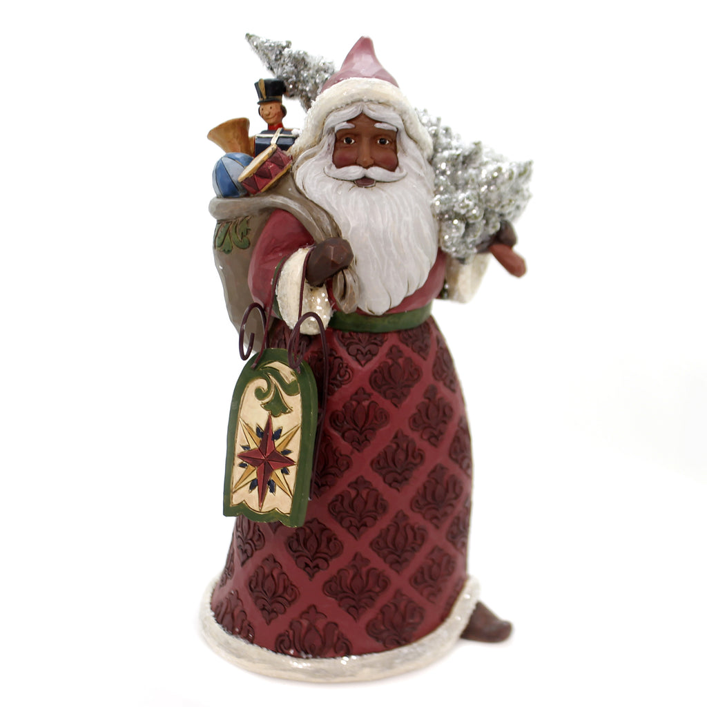 Jim Shore DREAMING OF CHRISTMAS PAST Polyresin Victorian Santa 4060431