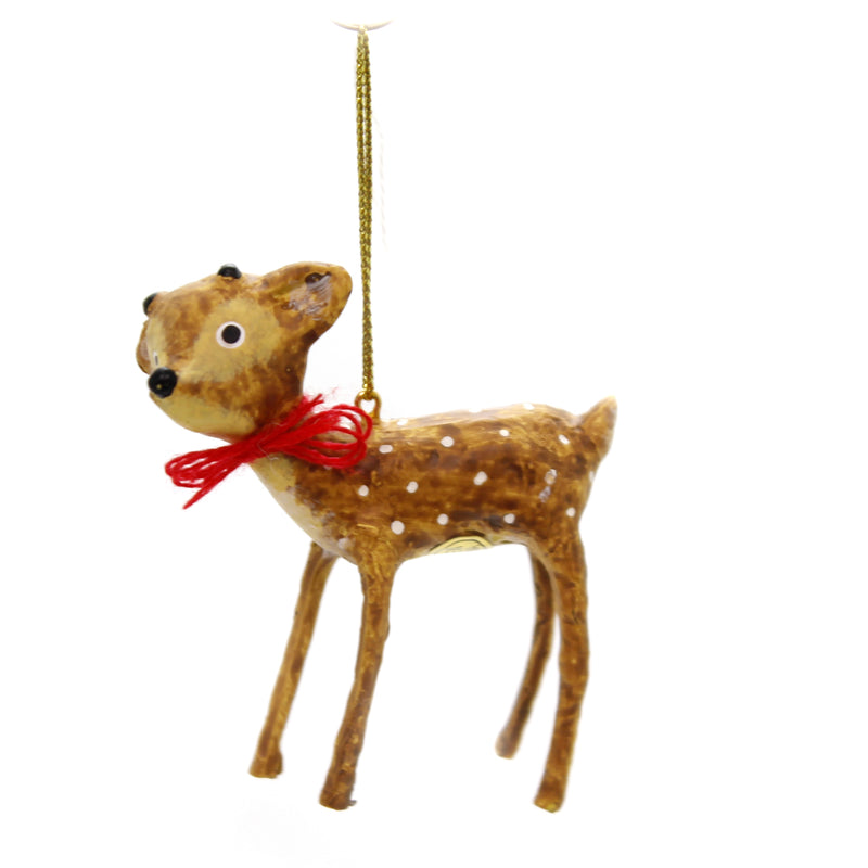 Lori Mitchell BABY REINDEER ORNAMENT Polyresin Holiday 11115