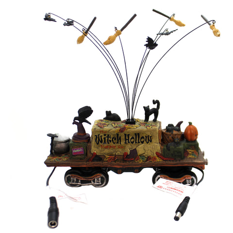 Department 56 Accessory WITCH HOLLOW SUPPLY CAR Halloween Haunted Rails 6002302 39229