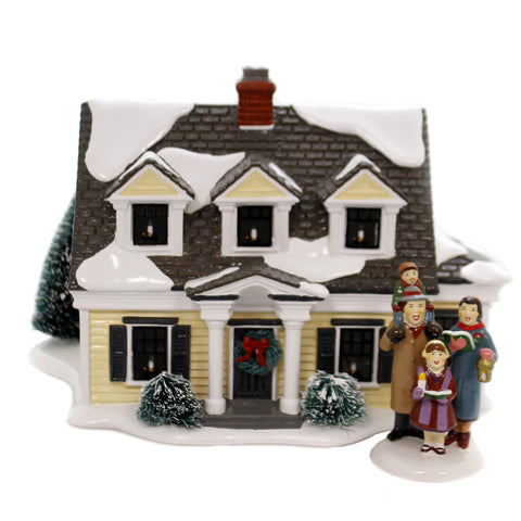 Department 56 House SV WELCOMING CHRISTMAS Snow Village Department 56 6002296 39230