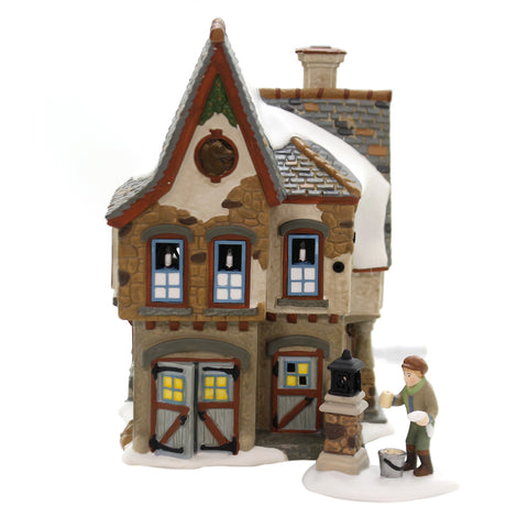 Department 56 House DICKENS WELCOMING CHRISTMAS Dickens Village 6002291 39231