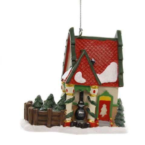 Holiday Ornaments THE FIR FARM Polyresin North Pole Department 56 6002254 39234