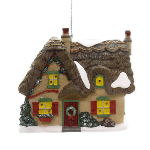 Holiday Ornaments BROOKSHIRE COTTAGE Dickens Village Department 56 6002256 39236
