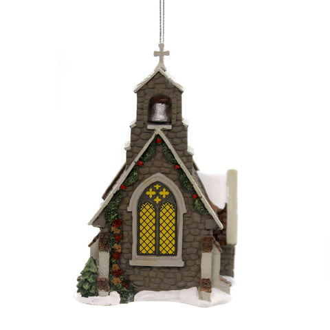 Holiday Ornaments ISLE OF WIGHT CHAPEL Dickens Village Department 56 6002255 39238