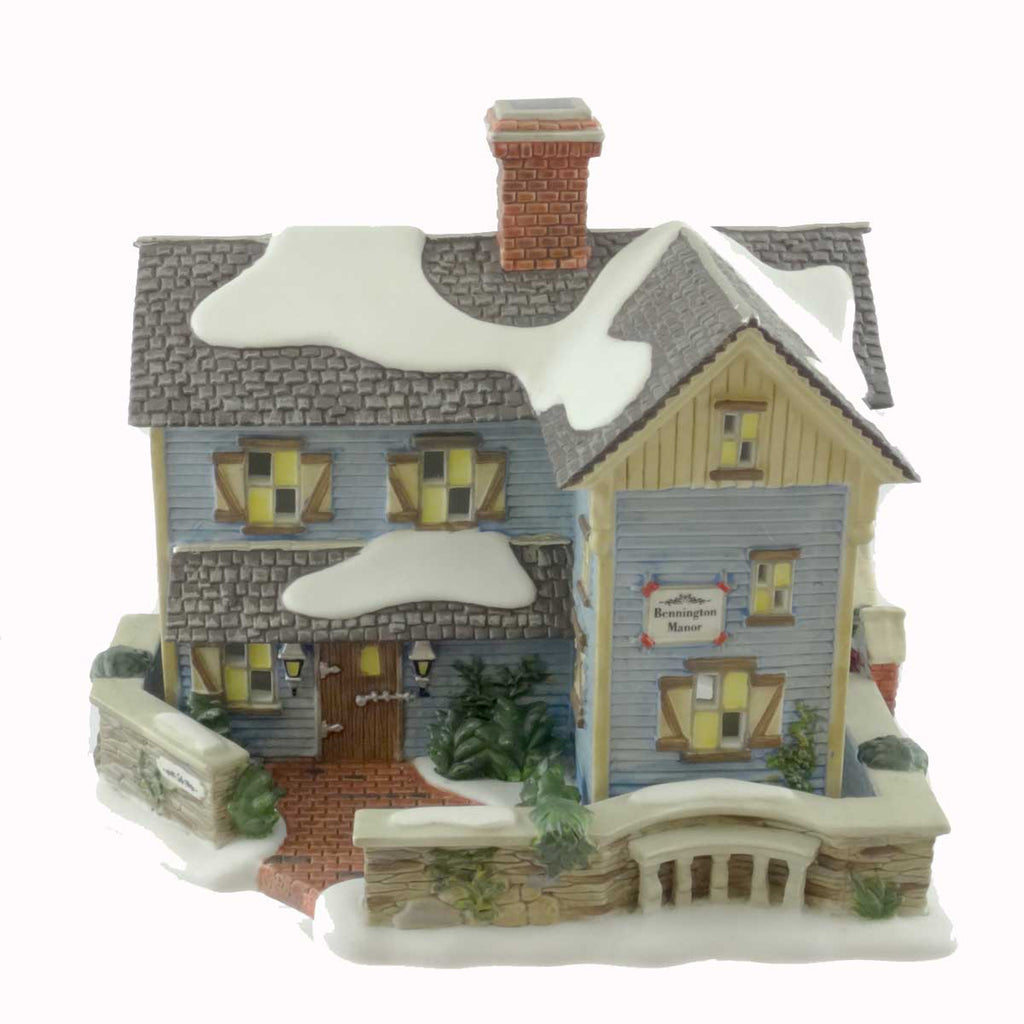 Dept 56 Buildings Bennington Manor Village Lighted Building