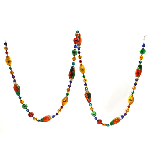 Christina's World CIRCUS CLOWN BEADED GARLAND Czech Republic Faceted Gar110 39248