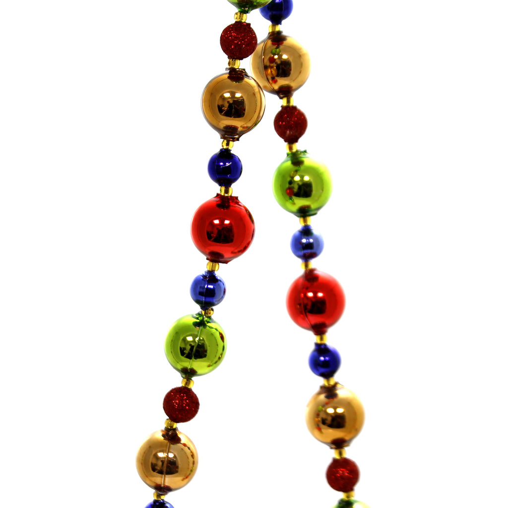Christina's World PRIMARY COLOR BEADED GARLAND Czech Republic Copper Gar113