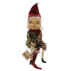 Joe Spencer ELLA SANTA'S HELPER Fabric Christmas Stocking Girl Fgs732030