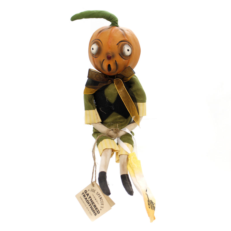 Joe Spencer ORVIS PUMPKIN HEAD GUY Halloween Primitive Trick Treat Fgs73765