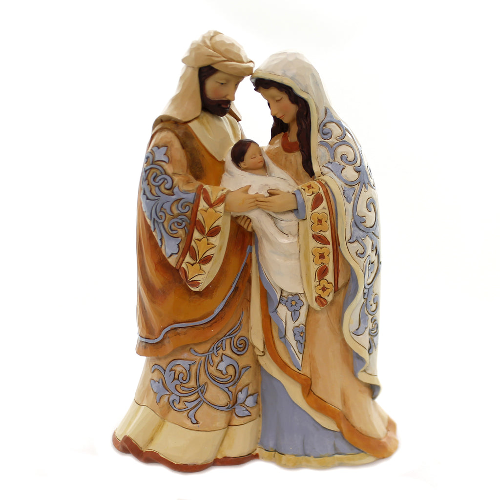 Jim Shore BLESSED BE THIS HOLY THREE Nativity Mary Joseph Jesus 4059923