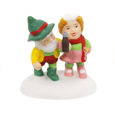 Department 56 Accessory HAVE A COKE AND A SMILE North Pole Series Coca-Cola 6002294 39271